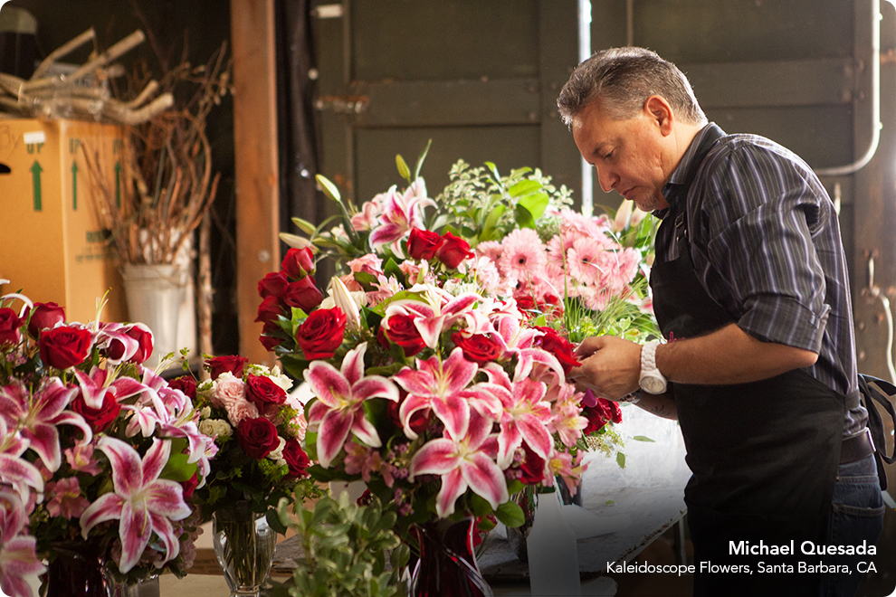 local florists, flower shops, and online options through Find A Florist